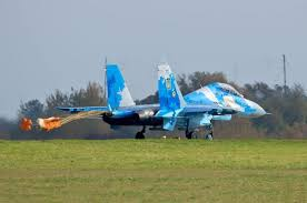 """После падения истребителя Су-27 в Украине отменили часть учений """"Чистое небо-2018"""""""