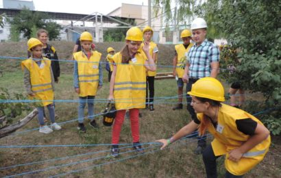 Цікаві канікули: дітям провели екскурсію на шахті
