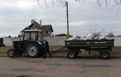 В Богуславе жители устроили «чистый четверг»